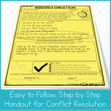 Moving on From Conflict Classroom Guidance Lesson