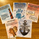 Worry Management Strategies: Worry Strategy Cards for School Counseling