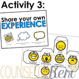Feelings Activity School Counseling Centers Classroom Guidance Lesson