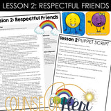 Kindergarten Friendship Group Counseling Curriculum