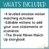 Winter Feelings Activities: Emotion Identification, I Feel Statements & More