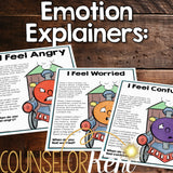 Feelings Classroom Guidance Lesson - Recognizing Emotions Activity