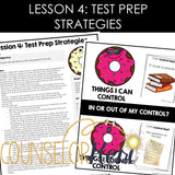 Test Anxiety Group Counseling Curriculum: Test Anxiety Activities