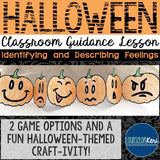 Halloween Classroom Guidance Lesson - Early Elementary - School Counseling
