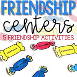 Friendship Centers: Friendship Activities for School Counseling