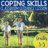Coping Skills Classroom Guidance Lesson for Elementary School Counseling