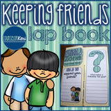 Elementary School Counseling Lap Book: Keeping Friends