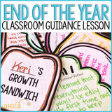 End of the Year Activity Reflections and Transitions Classroom Guidance Lesson