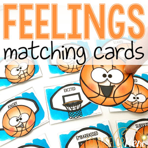 Feelings Activities: Feelings Cards for Feeling Centers & Emotion Identification