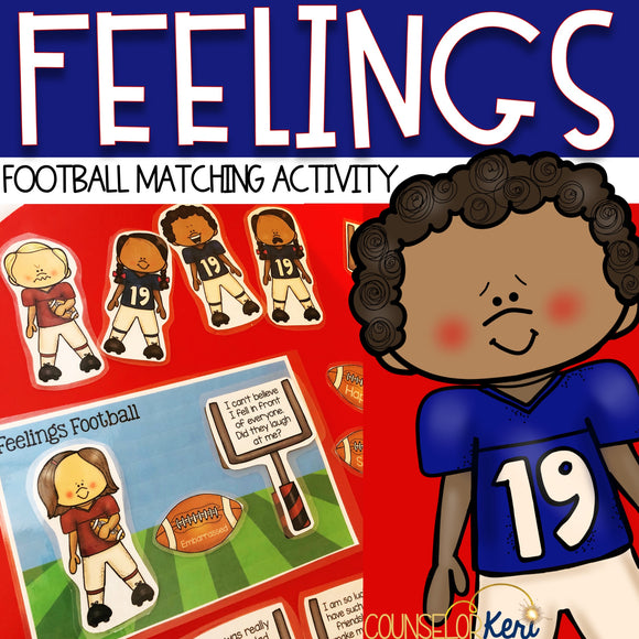 Football Feelings Matching Activity for Understanding and Identifying Emotions