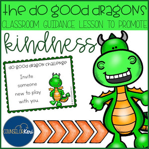 Kindness Classroom Guidance Lesson Activity Pack - Elementary School Counseling