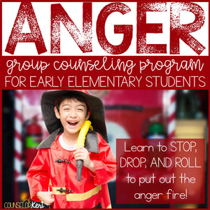 Anger Management Group Counseling Program for Early Elementary Students