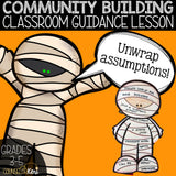 Community Building Classroom Guidance Lesson - Assumptions Activity