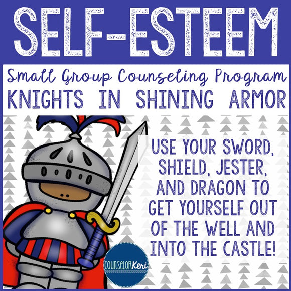 Self Esteem Small Group Counseling Program with Self Esteem Activities