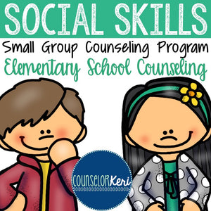 Social Skills Group Counseling Program with Social Skills Activities