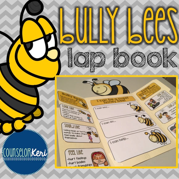 Elementary School Counseling Lap Book: Bullying Prevention for Early Elementary