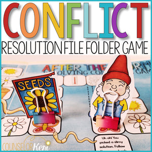 Conflict Resolution Activity: School Counseling Game for Resolving Conflicts