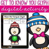 Get to Know You Glyph Digital Activity for Elementary School Counseling