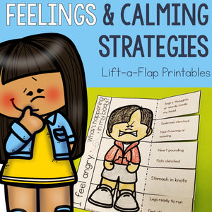 Feelings and Calming Strategies: Identify Emotions and Coping Skills