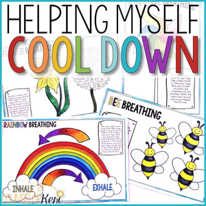 Calming Strategies Activities Classroom Guidance Lesson Cool Down Centers