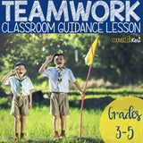 Teamwork Activity Classroom Guidance Lesson for Elementary School Counseling