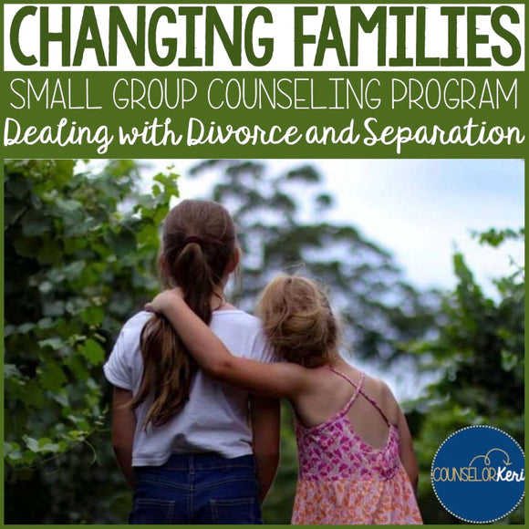 Family Changes Small Group Counseling Program for Divorce or Separation