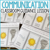 Communication Styles Classroom Guidance Lesson for School Counseling: Assertive Communication