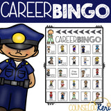 Career Bingo Career Game for Elementary Career Education & Career Exploration