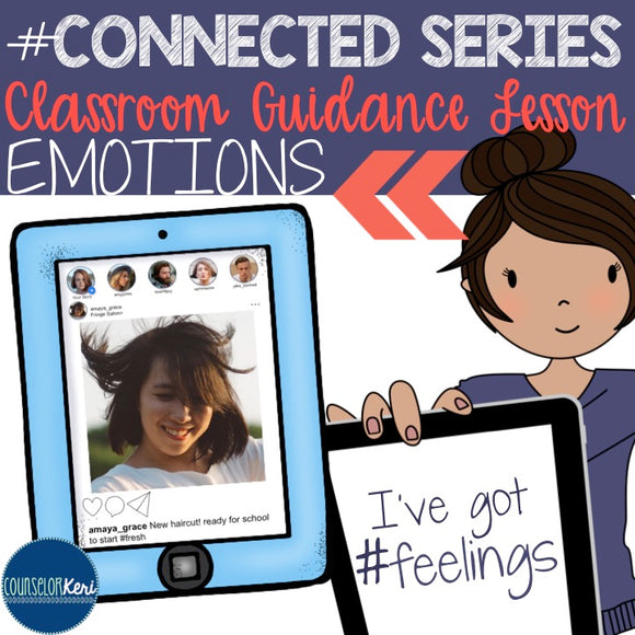 Inferring Emotions/Feelings Classroom Guidance Lesson for School Counseling