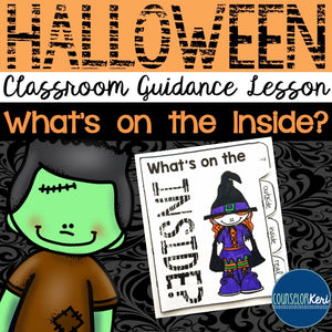 Halloween Classroom Guidance Lesson - Upper Elementary - School Counseling