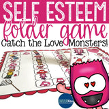 Self Esteem File Folder Game for Elementary School Counseling