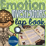 Elementary School Counseling Lap Book: Emotion Investigators