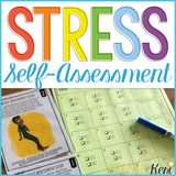 Stress Activity: Stress Self Assessment Classroom Guidance Lesson Stress Levels