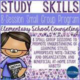Study Skills Small Group Counseling Program with Study Skills Activities