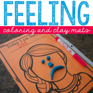 Emotion Mats for Feeling Identification and Facial Expression Practice