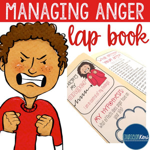 Managing Anger Lap Book: Strategies for Positive Anger Management