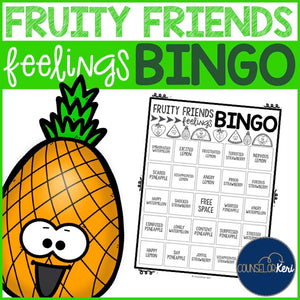 Feelings BINGO Emotion Recognition Game for Elementary School Counseling