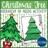 Christmas Personal Needs Activity-School Counseling- Maslow's Hierarchy of Needs