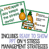 Stress Management Classroom Guidance Lesson for Elementary School Counseling