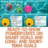 SMART Goals Classroom Guidance Lesson with SMART Goals Activity and Craft