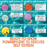 Self Esteem Elementary School Counseling Classroom Guidance Lesson