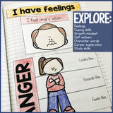 School Counseling Interactive Notebook for Social Emotional Learning INB