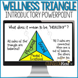 Wellness Triangle Classroom Guidance Lessons: Healthy Lifestyle Activities