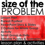 Size of the Problem Classroom Guidance Lesson for School Counseling