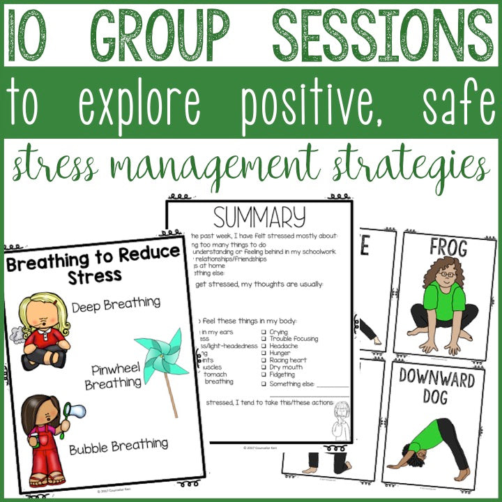 Stress Management Group Counseling Program with Coping ...