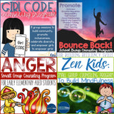 Group Counseling Curriculum Bundle: All Counselor Keri Group Counseling Programs