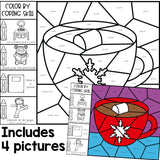 Color by Coping Skills Winter Activity for Elementary School Counseling