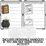 Friendship Activity Classroom Guidance Lesson with Digital/Paperless Activity