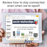 Social Relationships Digital Activity for Google Classroom Distance Learning