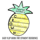 Self Esteem Classroom Guidance Lesson for School Counseling Pineapple